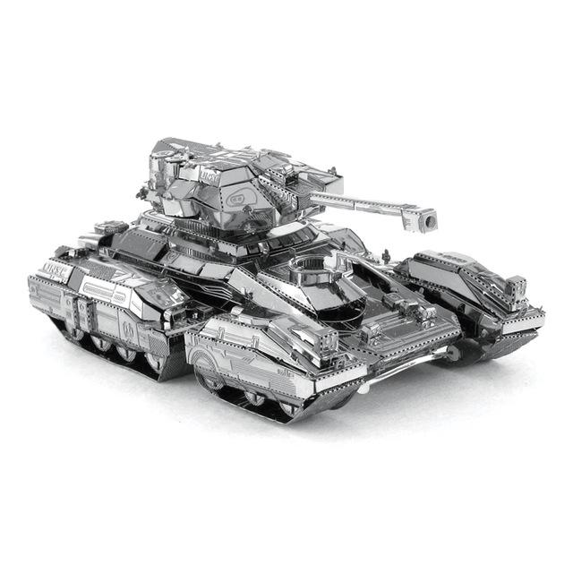 3D Puzzle Jigsaws Metal Toys 8 Styles tankers Toys for Adult Scorpion Tank