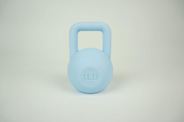 Weight Lifting Sky Blue Kettlebell Mini Fitness Exercise Equipment