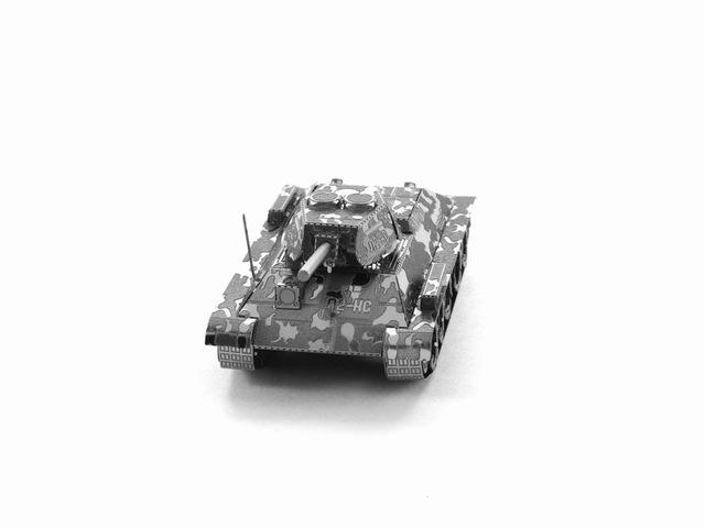 3D Puzzle Jigsaws Metal Toys 8 Styles tankers Toys for Adult T34 Tank