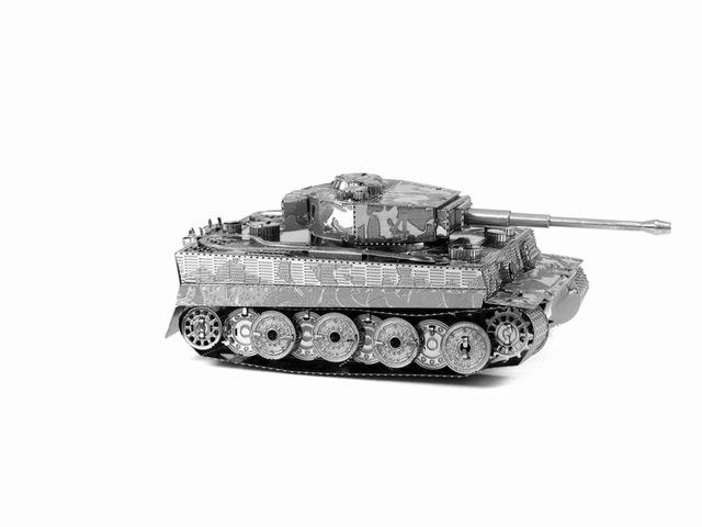3D Puzzle Jigsaws Metal Toys 8 Styles tankers Toys for Adult Tiger Tank