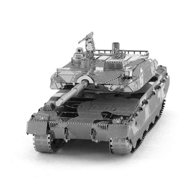 3D Puzzle Jigsaws Metal Toys 8 Styles tankers Toys for Adult Type 10 Tank