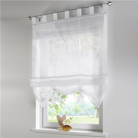 Blinds, Shades & Shutters White 4 / A 60X140CM Vertical Blind Tulle Curtains  Floral Sheer Panel Polyester