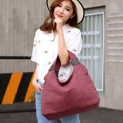 Shoulder Bags small size canvasbag6 Ladies Designer Handbag Hobo Canvas Bucket Bag