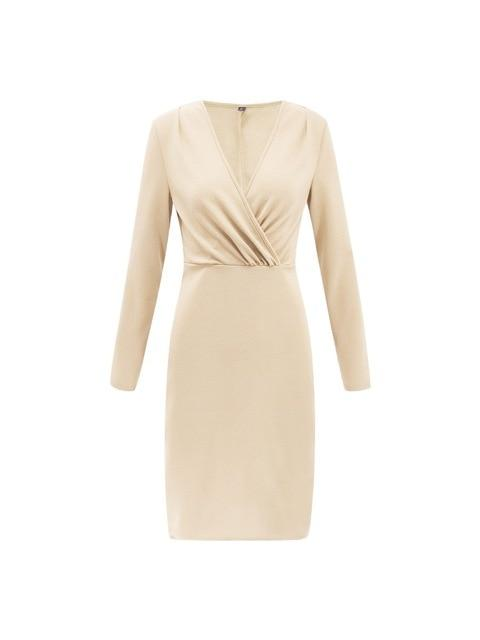 Dresses xingse / S Bodycon Dresses Deep V Neck Sexy Dress Club Wear