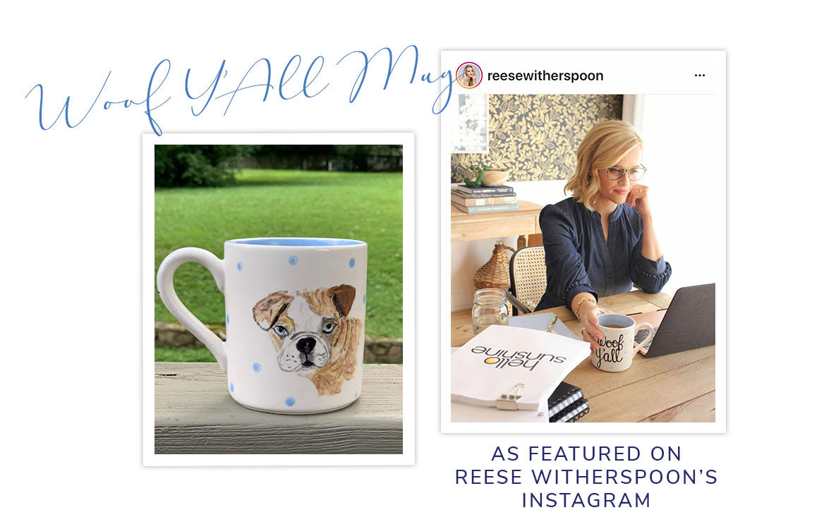As Featured on Reese Witherspoon's Instagram