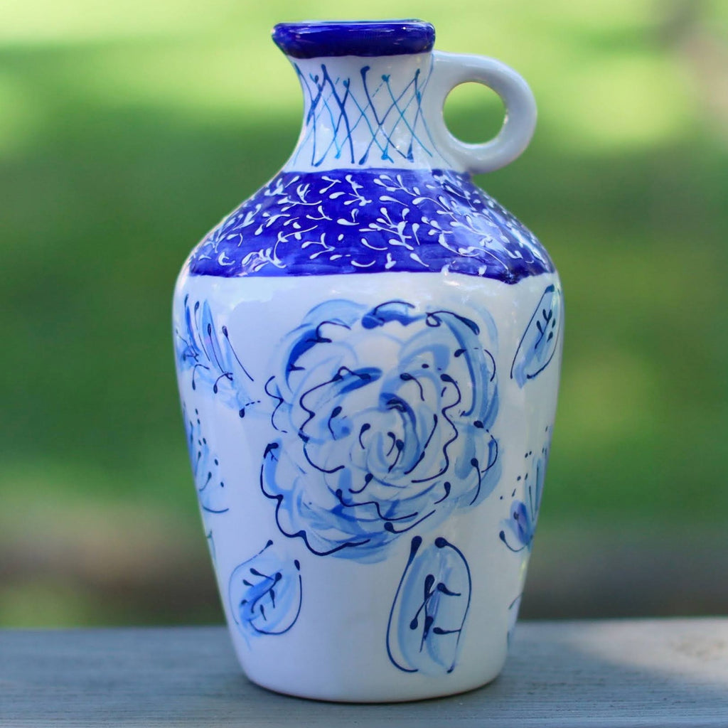 Blue and White Jug Vase