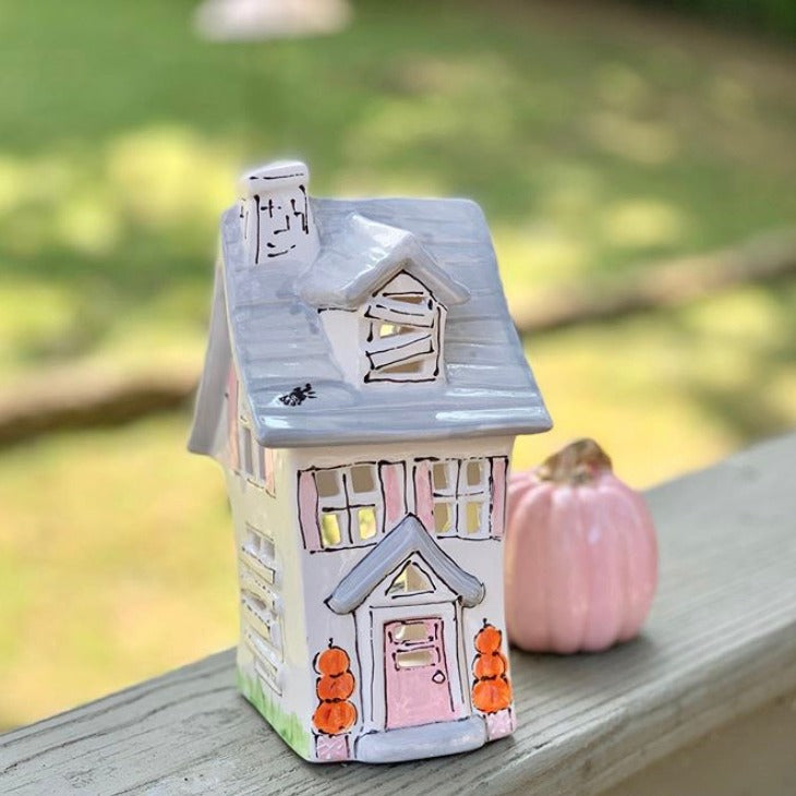 Haunted House Halloween Lantern