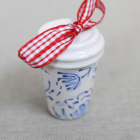 Coffee Tumbler Ornament