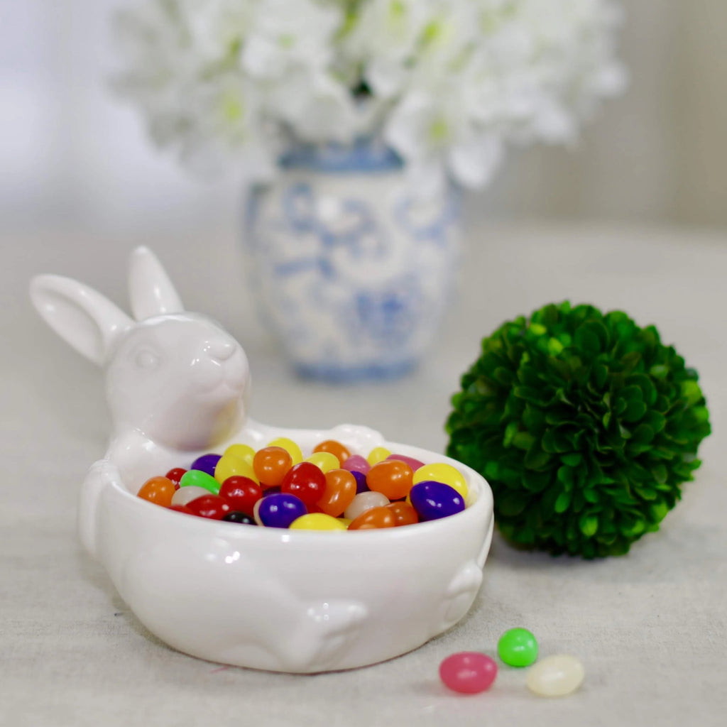 Easter Bunny Ceramic Bowl