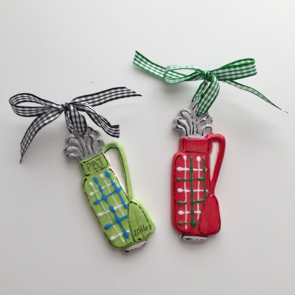 Golf Lover's Golf Bag Ornament