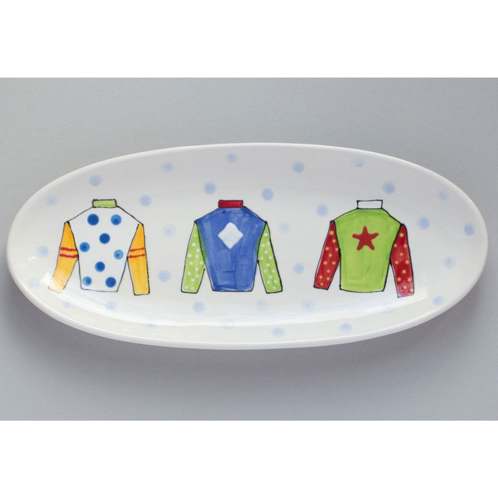 Jockey Silk Kentucky Derby Platter
