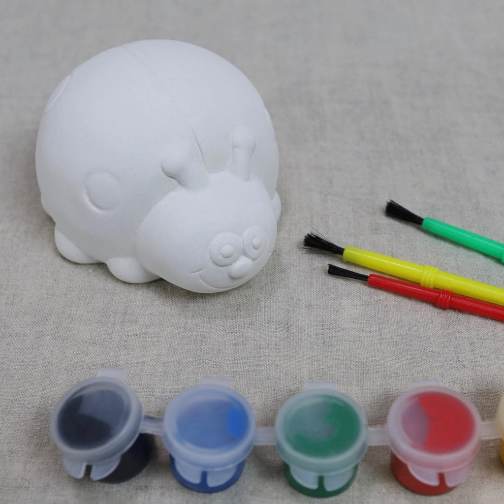 Ladybug Pottery To Go Paint Kit