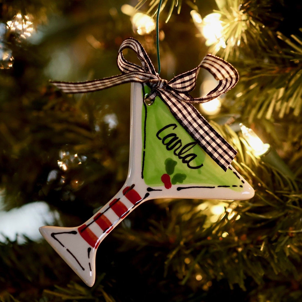 Martini Glass Cocktail Ornament