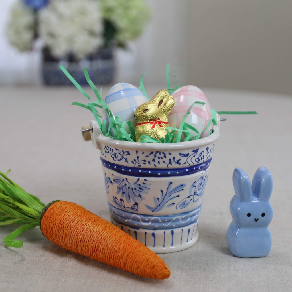 Mini Ceramic Topiary Pattern Bucket