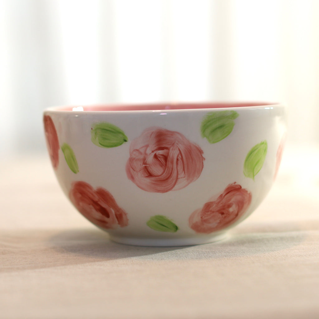 Rose Pattern Bowl
