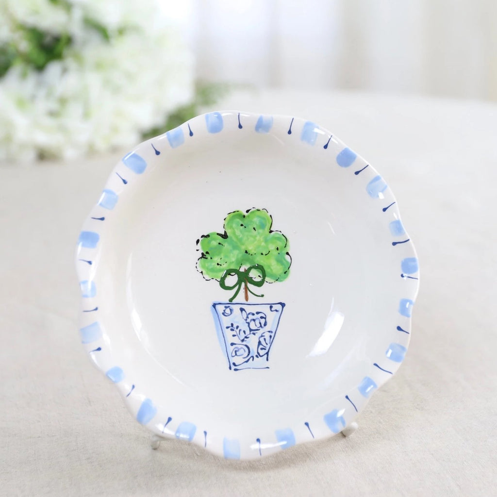 Shamrock Topiary Blossom Bowl