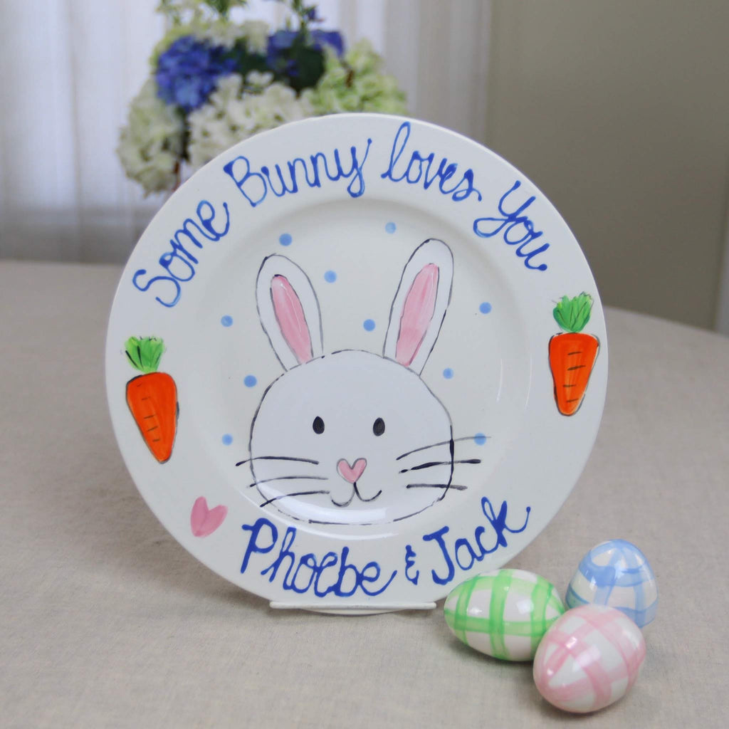 Some Bunny Loves You Treat Plate