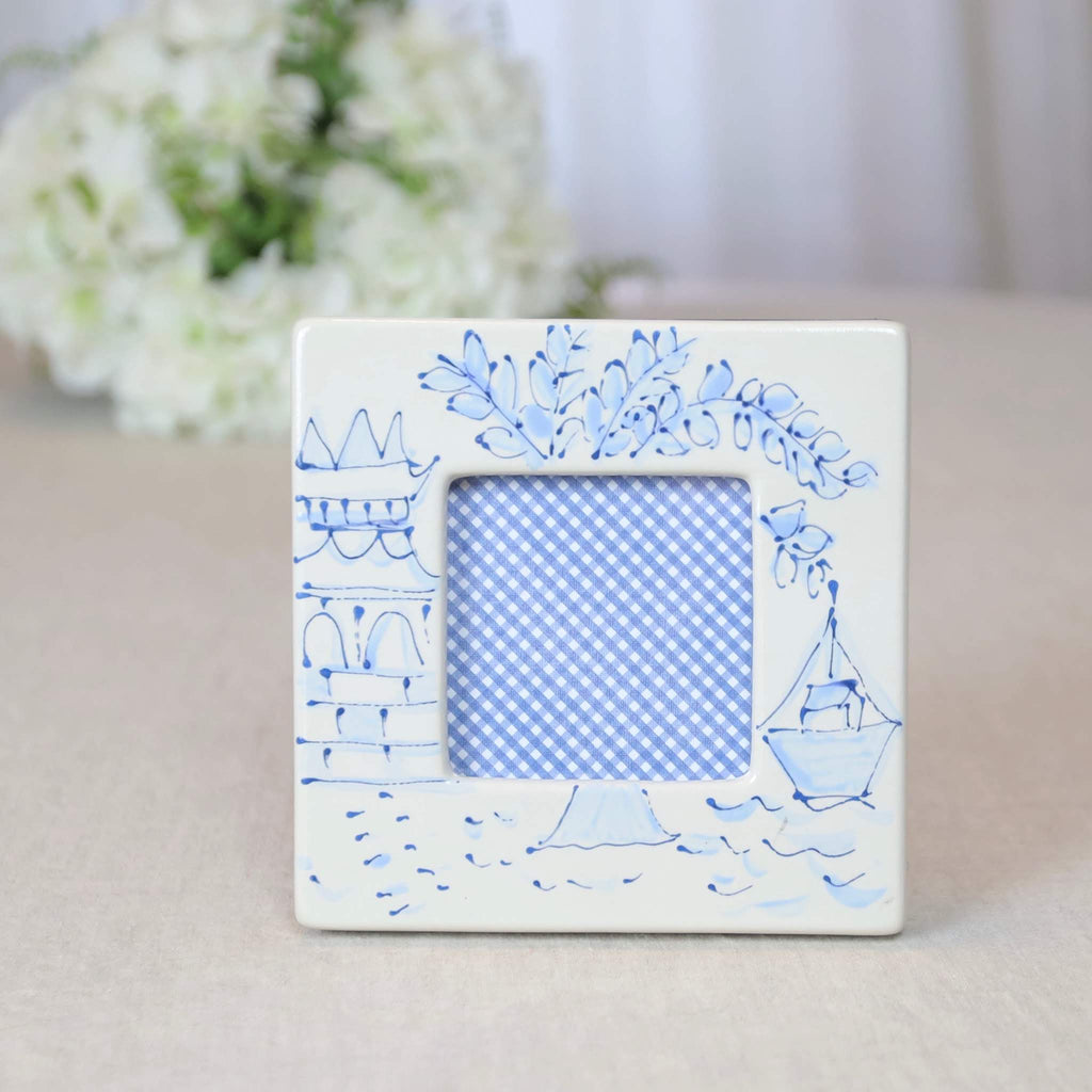 Square Frame Chinoiserie