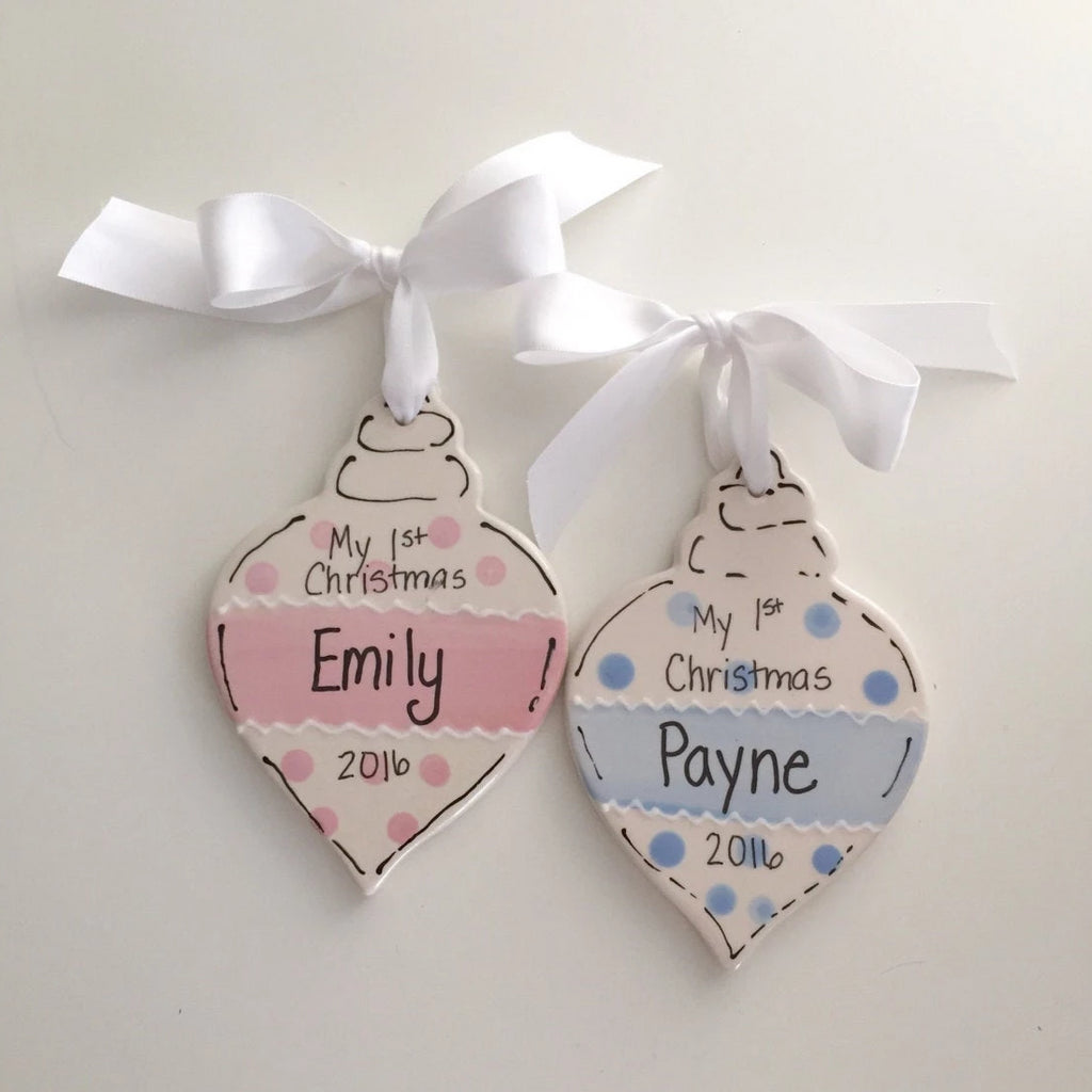 Child's First Christmas Personalized Ornament
