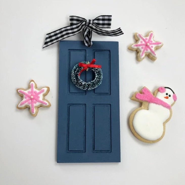 Front Door Christmas Ornament