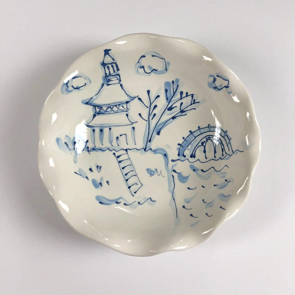 Chinoiserie Blossom Bowl