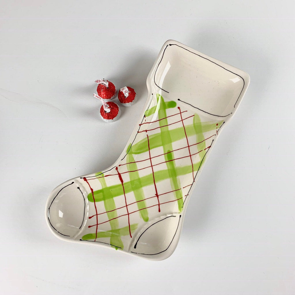 Christmas Stocking Dish