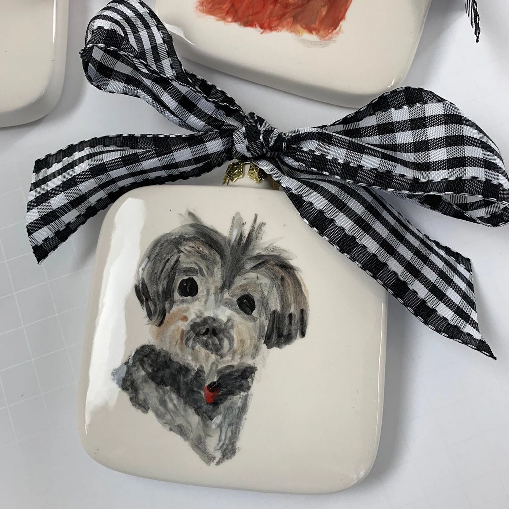 Illustrated Pet Ornament