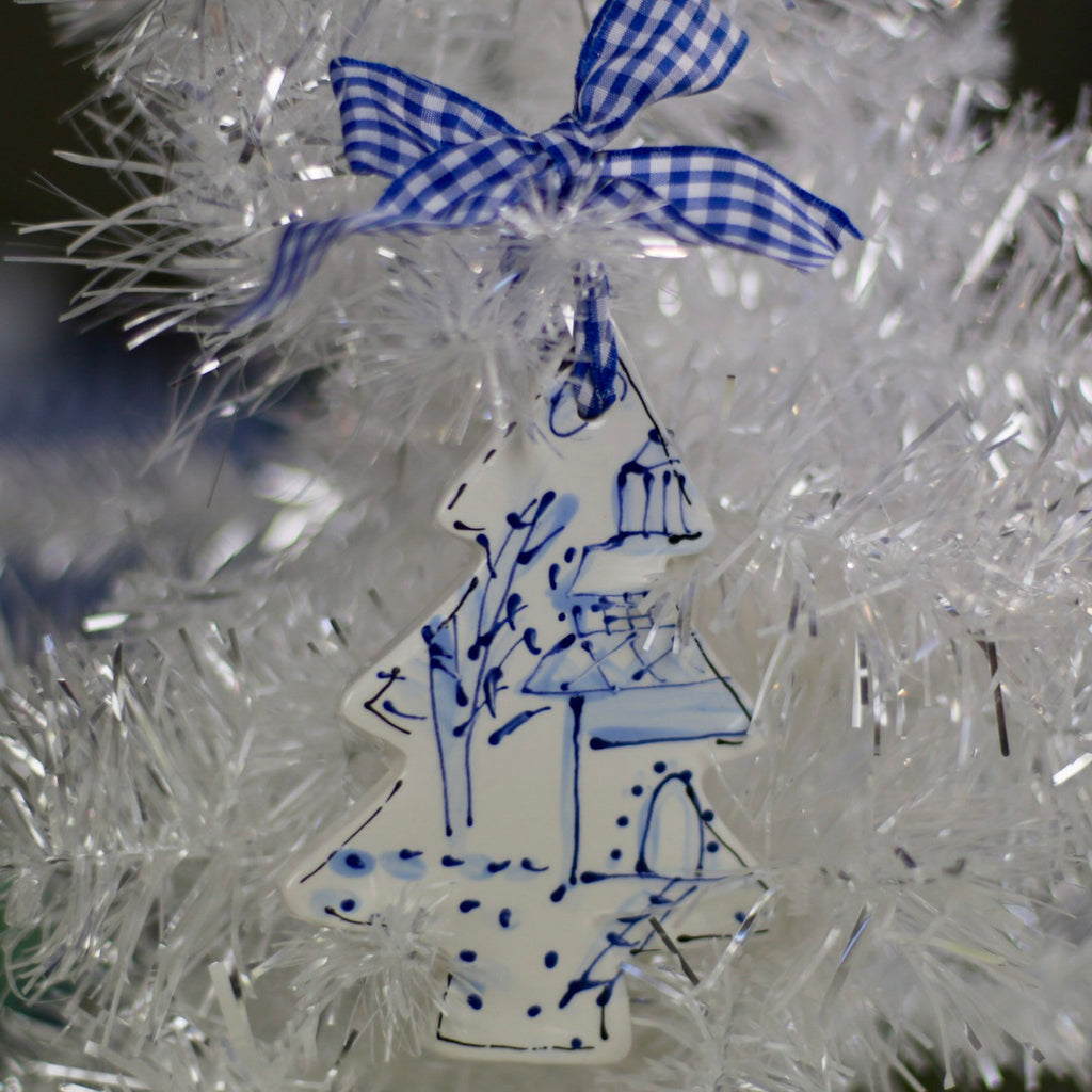 Chinoiserie Christmas Tree Ornament