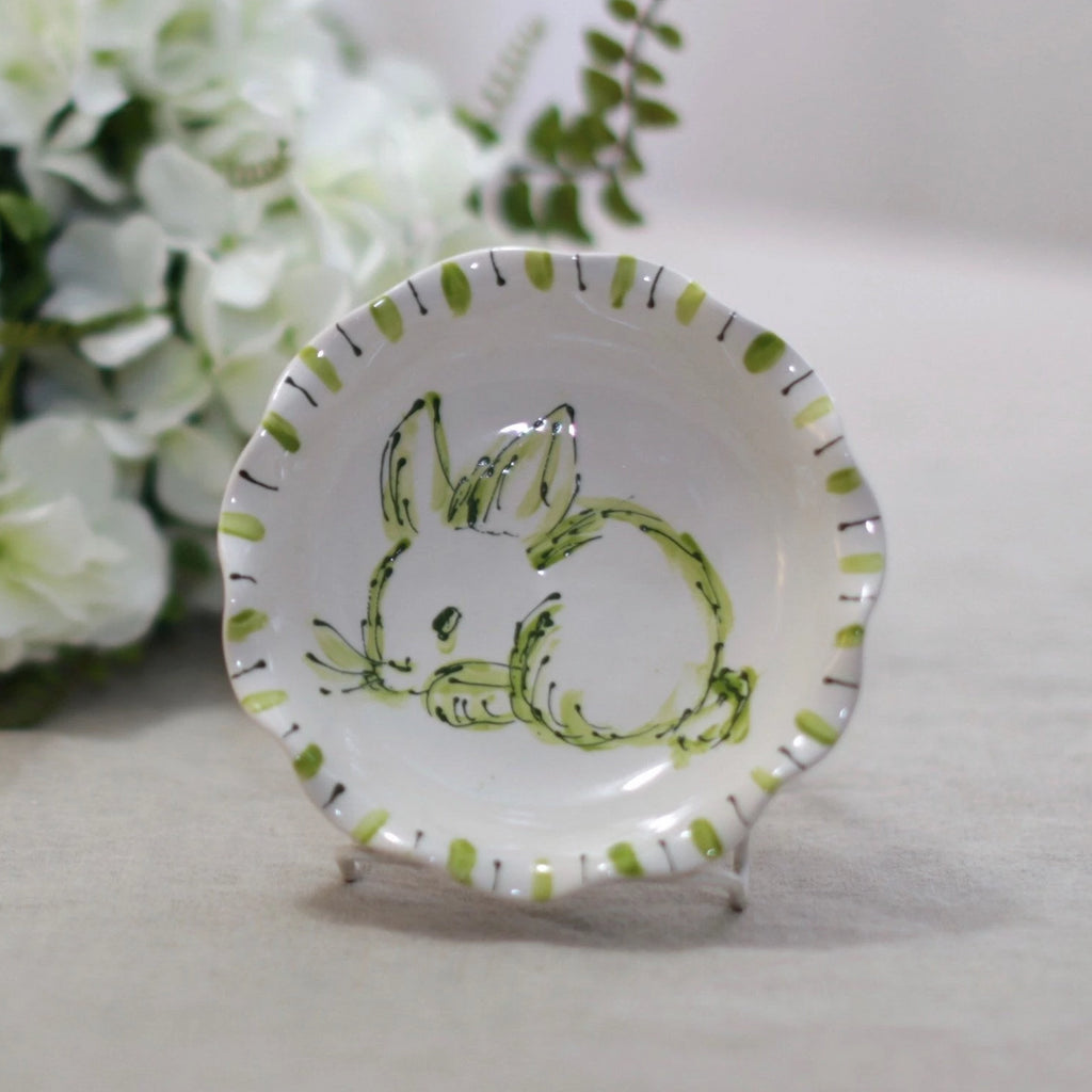 Chinoiserie Easter Bunny Bowl