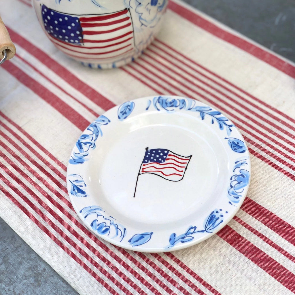Chinoiserie 4th of July Platter