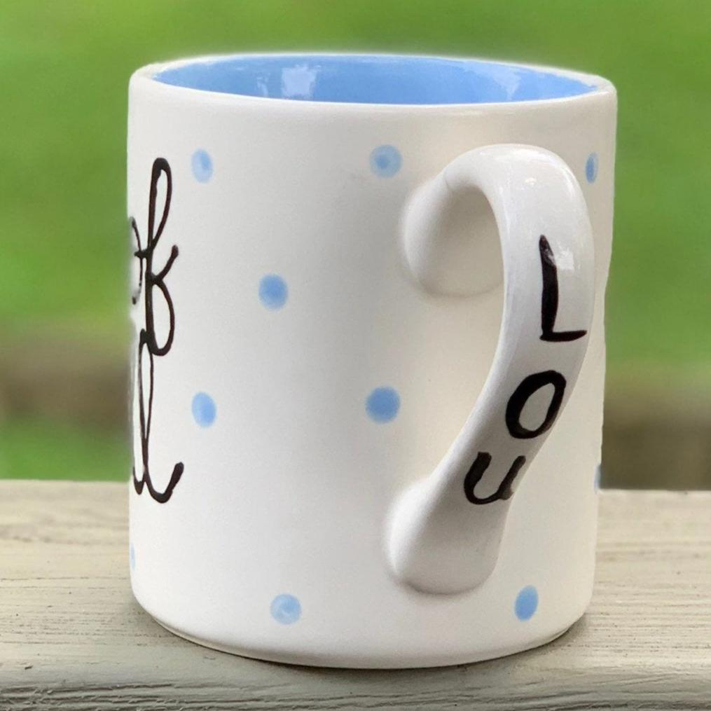 Personalized Hand-Painted Pet Portrait Mug