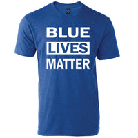 Blue Lives Matter Crew Neck tee
