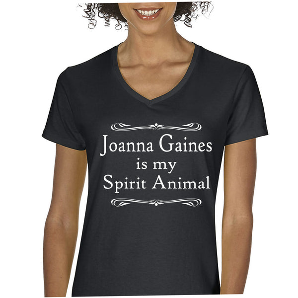 Joanna Gaines is My Spirit Animal! V-neck tee