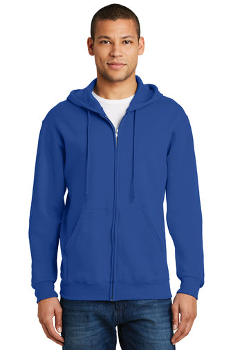 (WC) ADULT Full Zip Hooded Jacket (Jerzees SM993M)
