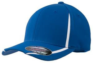 (SEL) Sport-Tek Flexfit Performance Colorblock Cap (STC16)
