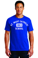 (MARY) JERZEES-Dri-Power 50/50 Cotton/Poly T-Shirt-ADULT & YOUTH sizes available (29M)