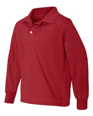 (MARY) YOUTH Youth Long Sleeve Sport Shirt (SS 437YLR)