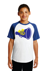 (Cheer) Baseball Shirt - T201 (Available in Adult and Youth Sizes)0
