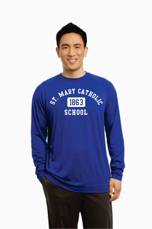 (MARY) Long Sleeve Ultimate Performance Crew (Available in Adult & Youth)  (SM ST700LS)