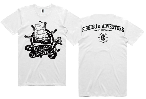 F&A ORIGINAL SHIP LOGO TEE