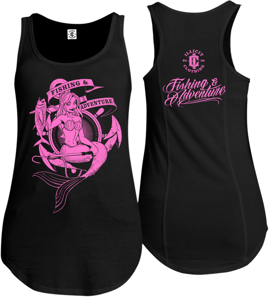 F&A MERMAID SINGLET - PINK