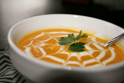 Sweet Potato and Butternut Squash Bisque - 6 cups