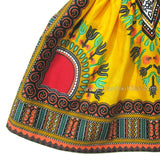 Yellow Toddler Kids Girls African Dashiki Dress Shop Online