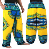 Yellow African Dashiki Pants