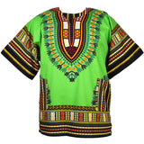 Lime African Dashiki Shirt Sales Store