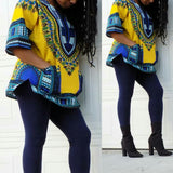 Yellow African Dashiki Shirt Sale Cheap Price