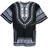 Black and White African Dashiki Shirt