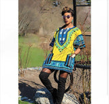 Yellow African Dashiki Shirt Fashion Online Store