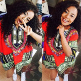 Red African Dashiki Shirt Sales Online