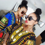 African Dashiki Shirt Tops Fashion